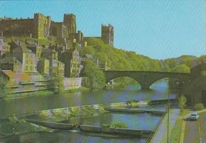 England Durham Cathedral Castle and River Wear