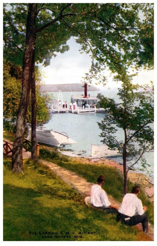 Wisconsin Lake Geneva , YMCA Camp Landing