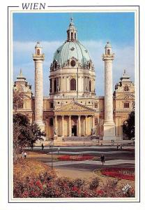 Wien Karlskriche, Vienna St. Charles Church Eglise de St. Charles Promenade