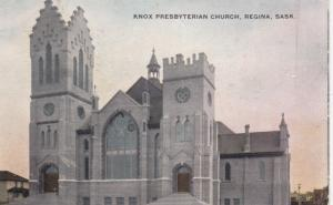 REGINA , Saskatchewan , Canada , 1909 ; Knox Presbyterian Church
