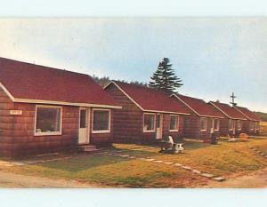 Unused Pre-1980 BRACCO MOTEL IN LUNENBURG Nova Scotia CANADA u0577