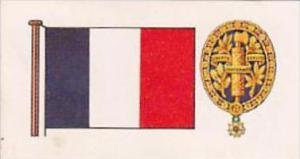 Brooke Bond Tea Trade Card Flags &  Emblems No 37 France