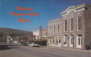 VIRGINIA CITY , Montana ; 50-60s ; Main Street