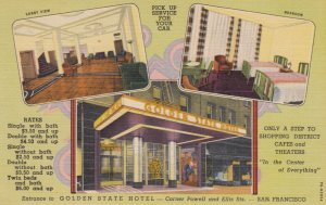 SAN FRANCISCO , California , 30-40s ; Golden State Hotel
