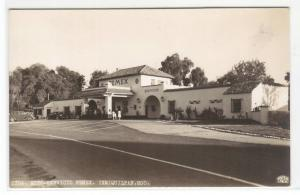 Auto Servicio Gas Station Pemex Ixmiquilpan HGO Mexico RPPC Real Photo postcard