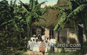 Panama Household & Their Home Republic of Panama Unused