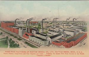 BATTLE CREEK , Michigan, 1900-10s , Postum Cereal Company