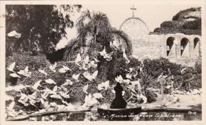 California Mission San Juan Capistrano Real Photo