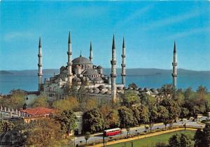 Turkey Istanbul Sultan Ahmet Camii - The Blue Mosque