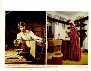 Interior, Twoview, Historical Prince William New Brunswick, Photo E Otto