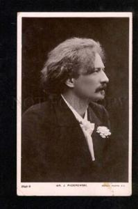 050155 PADEREWSKI Polish COMPOSER Pianist vintage PHOTO RARE