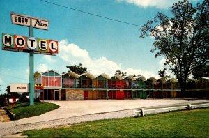 Illinois Harrisburg Gray Plaza Motel