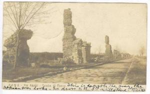 RP  ROMA - Via Appia - Tomb di Fusco, Italy, PU-1904