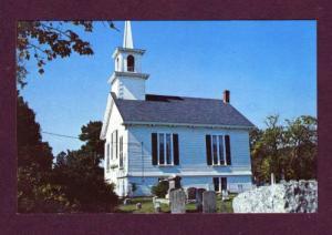 MA Baptist Church CAPE COD Bass River MASS PC Postcard