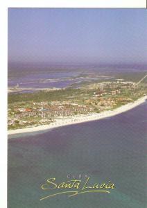 Postal 027899 : Cuba, playa Santa Lucia