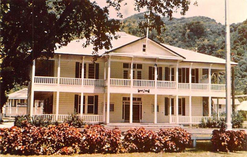 Government Administration Building in Fagatogo Tutuila Samoa Unused