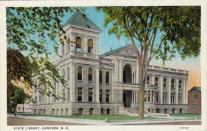 State Library, Concord, New Hampshire, 10-20s