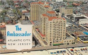Atlantic City New Jersey~Ambassador Hotel Bird's Eye View & Surroundings~1950s