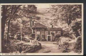 Worcestershire Postcard - St Ann's Well, Great Malvern    RS9248
