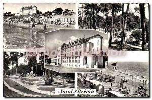 Postcard Ancient Jade Riviera St Brevin The Camping Plage sous les Pins Grand...