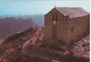The Peak of the 10 Commandments & The Chapel , EGYPT , 50-70s