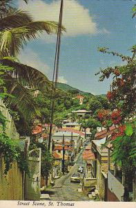 Street Scene , St Thomas , U.S. Virgin Islands , 50-70s