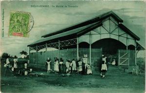 CPA Diego Suarez- Le Marche de Tanambo MADAGASCAR (830022)
