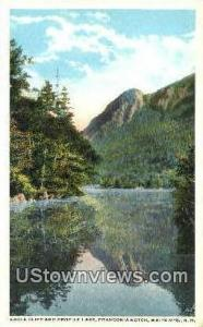Eagle Cliff & Profile Lake Franconia Notch NH Unused