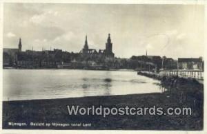 Nijmegen Netherlands, Nederland Gezicht op Nijmegen vanaf Lent Nijmegen Gezic...