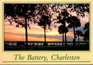 South Carolina Charleston The Battery White Point Gardens 1987