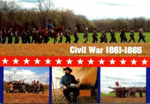 Civil War Reenactments Multi View
