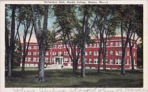 Missouri Mexico Richardson Hall Hardin College