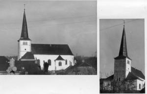 Luxembourg - St. Katharina Church  RPPC