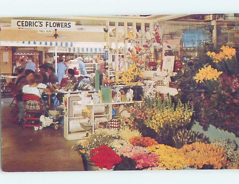 Unused Pre-1980 CEDRIC'S FLOWER SHOP Hollywood - Los Angeles CA hp0547-12