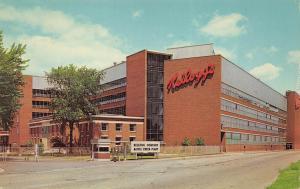 Battle Creek Michigan 1965 Postcard Kellogg Company Factory Cereal Maker