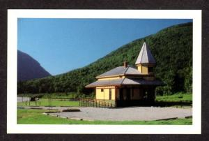 NH Crawford Notch Railroad Train Station Depot New Hampshire Postcard RR PC