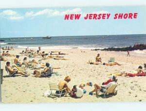 Pre-1980 BEACH SCENE Atlantic City & Seaside Heights & Wildwood NJ hn3181@