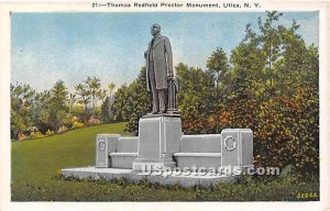 Thomas Redfield Proctor Monument - Utica, New York