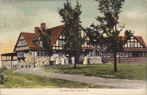 Exterior view of the County Club in Peoria, Illinois, PU-1907