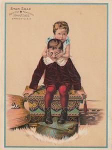 TC: Star Soap , 1900-10s; Schultz & Co. , ZANESVILLE, Ohio # 7