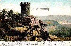 Connecticut Meriden Hubbard Park Castle Craig 1906