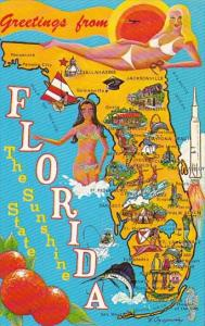 Florida Greetings From Florida The Sunshine State