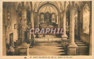 Old Postcard Mont Ste Odile (alt 763 m) Convent Church