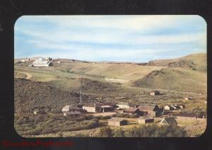 NEAR LANDER WYOMING OLD SOUTH PASS CITY VINTAGE POSTCARD