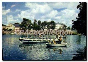 Modern Postcard Brest Marine Center De Formation Et Le Plan D'Eau