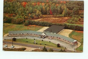 Buy Old Maine Postcards Aerial Linnell Motel Rumford