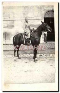 PHOTO CARD Army Soldier Cavalier