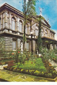 Costa Rica San Jose Fachada del Teatro Nacional
