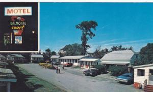2 Views, Classic Cars, Balmoral Court Motel, Saint John West, New Brunswick, ...