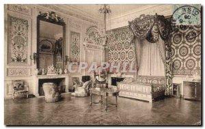 Old Postcard Compiegne Chateau Bedroom Marie Antoinette